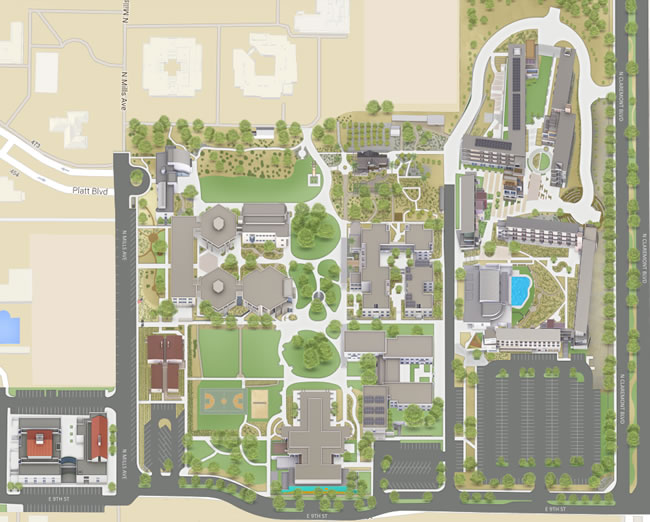 Maps and Directions | About | Pitzer College