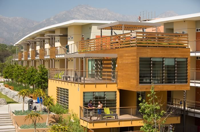 Pitzer Sustainably Built Residence Halls