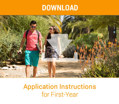 Application Instructions for First-Year