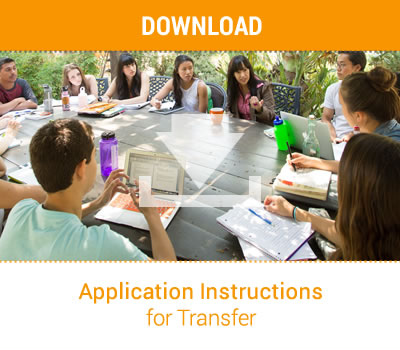 Application Instructions for Transfer