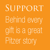 Support: Behind every gift is a great Pitzer Story