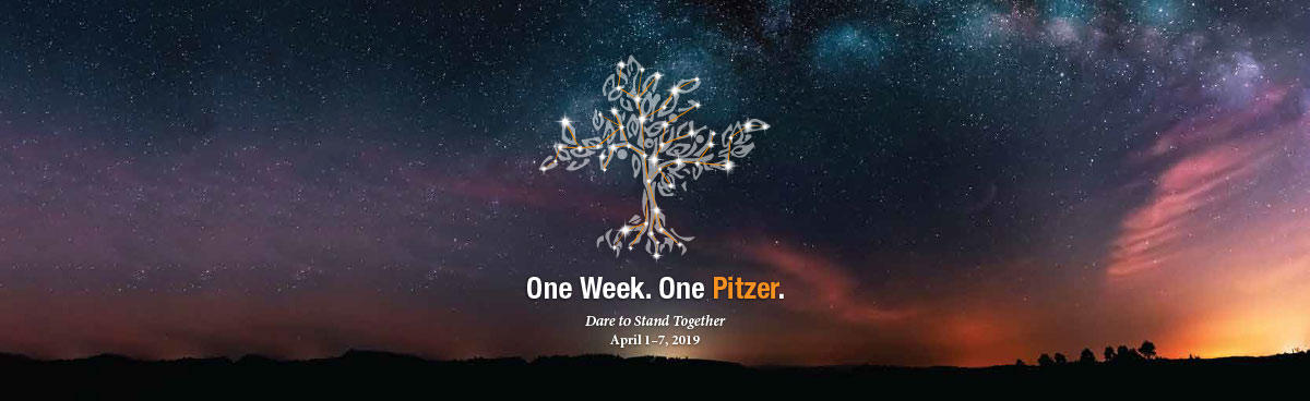One Week One Pitzer - Dare to Stand Together