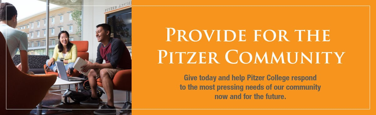 Provide Support for the Pitzer Community