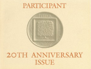 Cover 1984 20th Anniversary Issue
