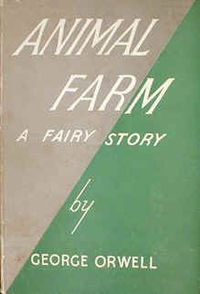 Book cover - Animal Farm