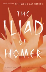 Book cover - The Iliad of Homer