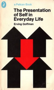Book cover - The Presentation of Self in Everyday Life