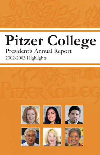 Cover, 2003 Annual Report