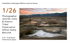 Poster for joint lecture from Kathy Bancroft and Jennifer Little