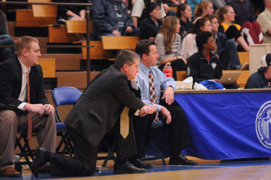 Men's Basketball Coach Charles Katsiaficas became one of only 35 NCAA Division III active coaches with 400 career wins.