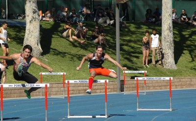 Bennett Kopperud '16 won the SCIAC Championship in the 400-meter hurdles for the Men's Track and Field team, finishing over a full second ahead of the runner-up.