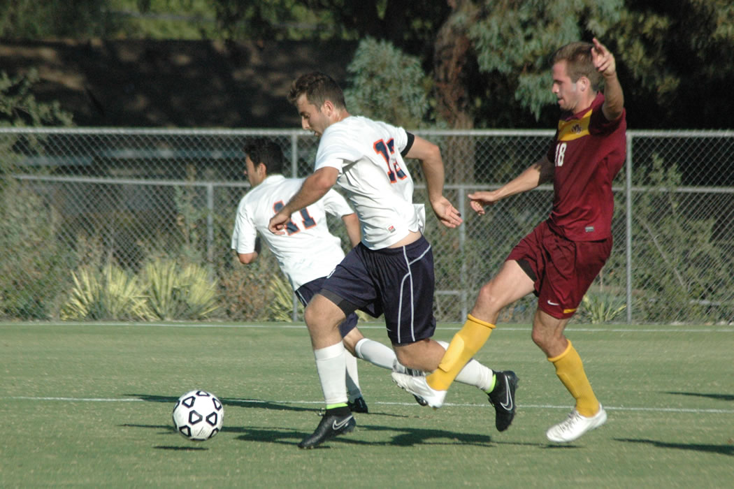 Drew Lind '14, one of the Sagehen captains, has helped lead the Men's Soccer team to a big lead in the SCIAC standings with three weeks left in the regular season.