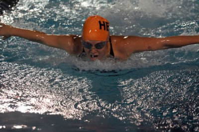 Kara Miller-Radest '18 won a SCIAC Championship in team-record time in the 200-yard butterfly.