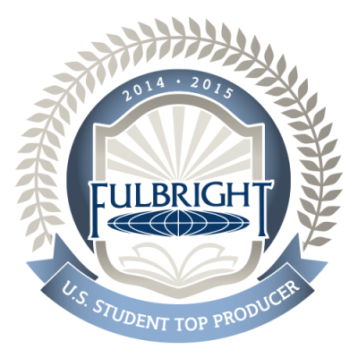 Fulbright 2014-2015 U.S. Student Top Producer