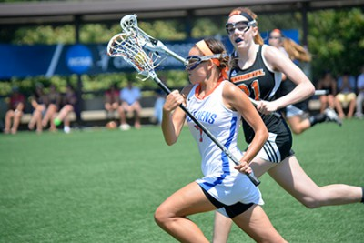 Zoe Brown '15 led a defense that helped Women's Lacrosse to its first-ever NCAA Tournament win
