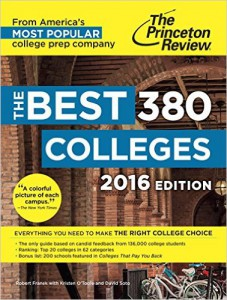 The Princeton Review 2016 Best Colleges