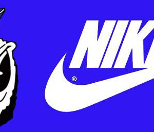 Saghen and Nike logo