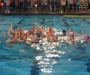 Sagehen Men's Water Polo team