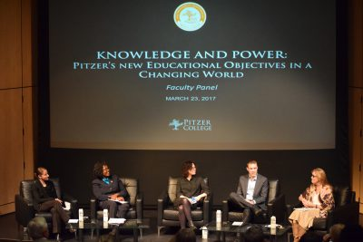 Faculty Panel during Inauguration Weekend, March 2017