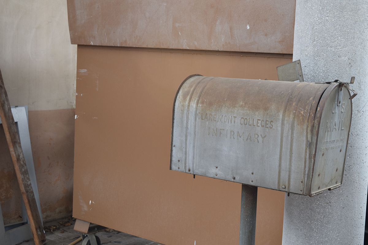 Original mailbox at the Redford Conservancy building.