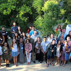 Group photo at the Fulbright reception