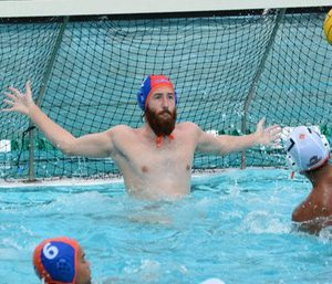 Sagehen Men's Water Polo goalkeeper Daniel Diemer '18