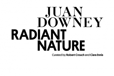 Graphic of Juan Downey: Radiant Nature