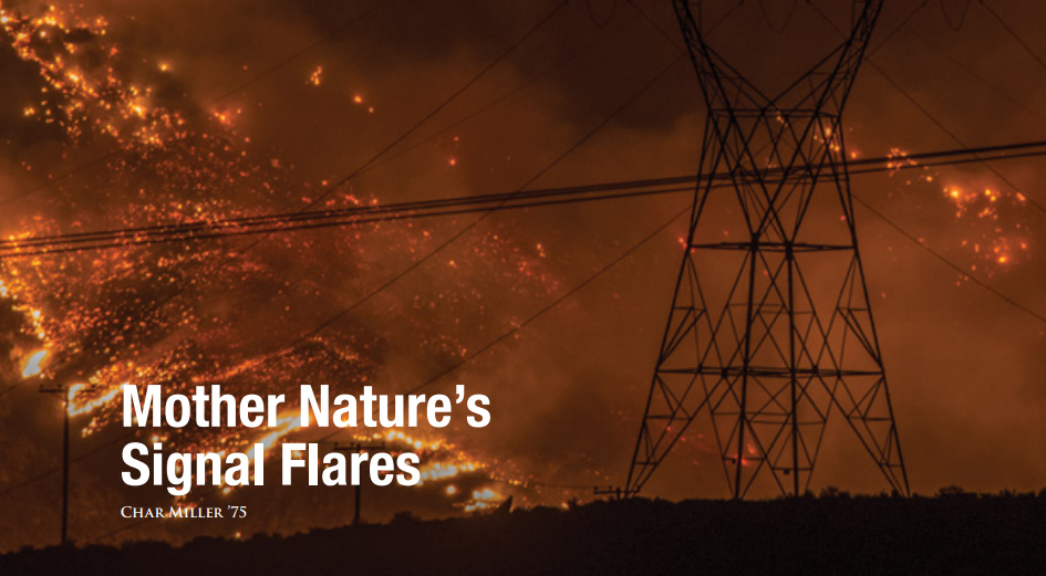Mother Nature's Signal Flares