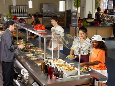 McConnell Dining Hall, Pitzer College
