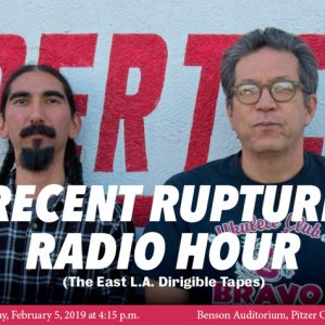 2019 Pepper Lecture: Recent Rupture Radio Hour