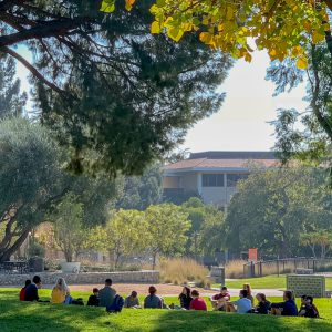 Class on the Mounds, Pitzer College