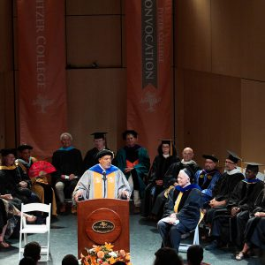 Pitzer College Convocation 2019