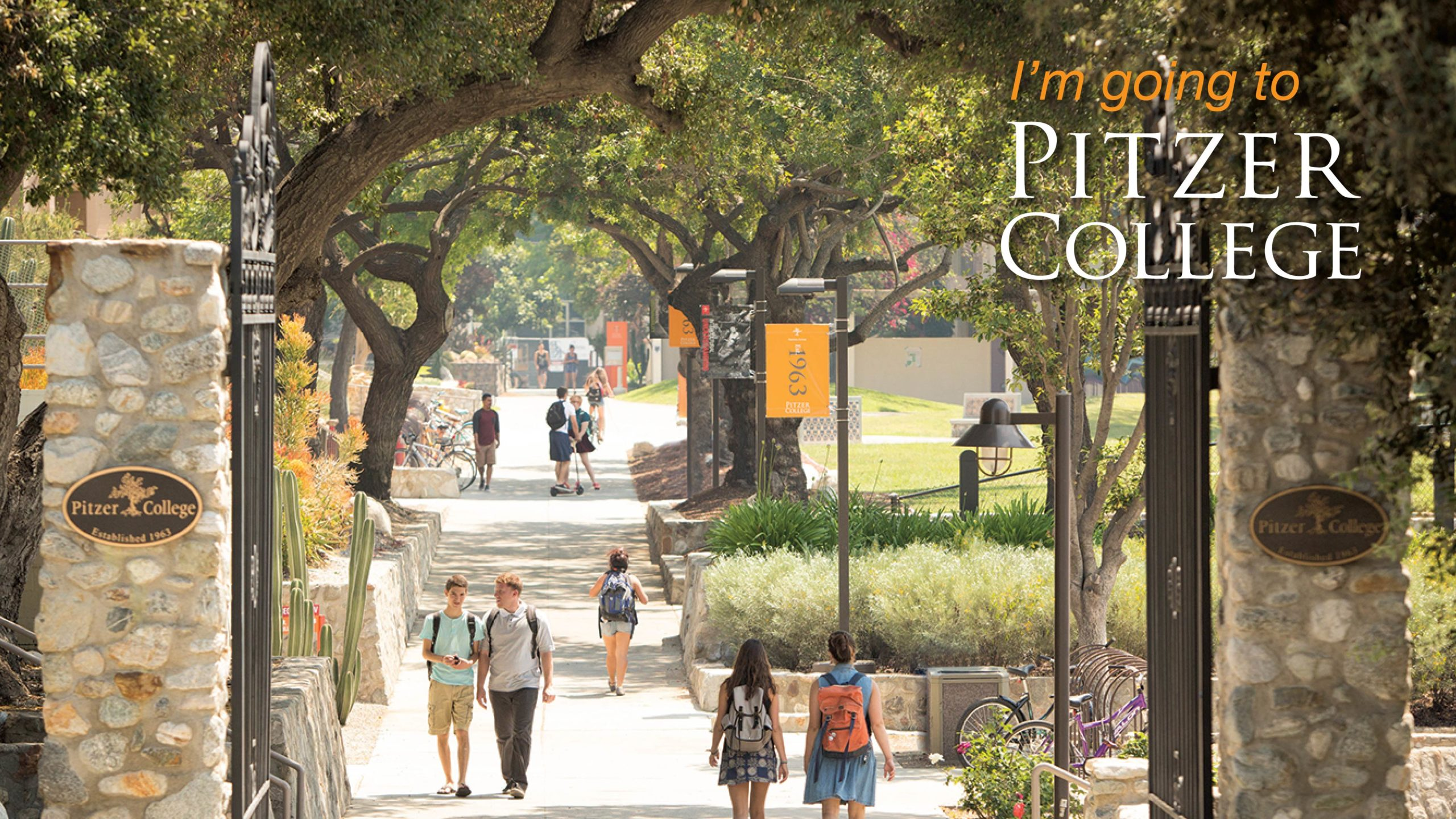 I'm going to Pitzer College!