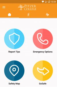 LiveSafe app home screen