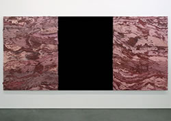 Grant Vetter; Collateral 2 (2008); 60.5 x 144 inches; Oil on canvas over panel