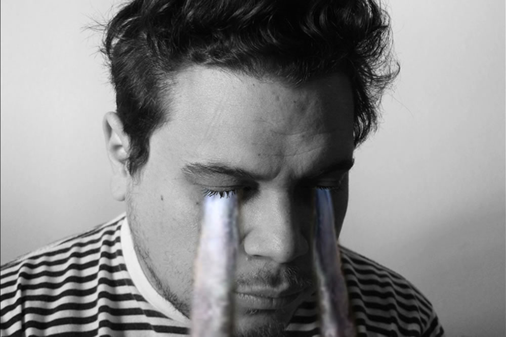 Marco Rios; Untitled (weeping video) (2010); Video, TRT: Continous loop; Courtesy of the artist and Simon Preston Gallery