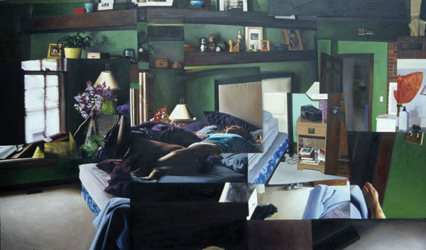 386 Jackson Street (2005), Oil on canvas, 8 x 10 feet, Courtesy of the artist and Fanny Garver Gallery, Madison, Wisconsin