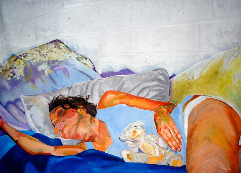 Dream Painting (2007), Oil on canvas, 36 x 60 inches, Courtesy of the artist