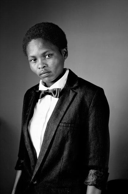 Zanele Muholi | Faces and Phases, 2006-present; Silver gelatin prints, 20 x 30 inches. Courtesy of Stevenson Cape Town and Johannesburg.