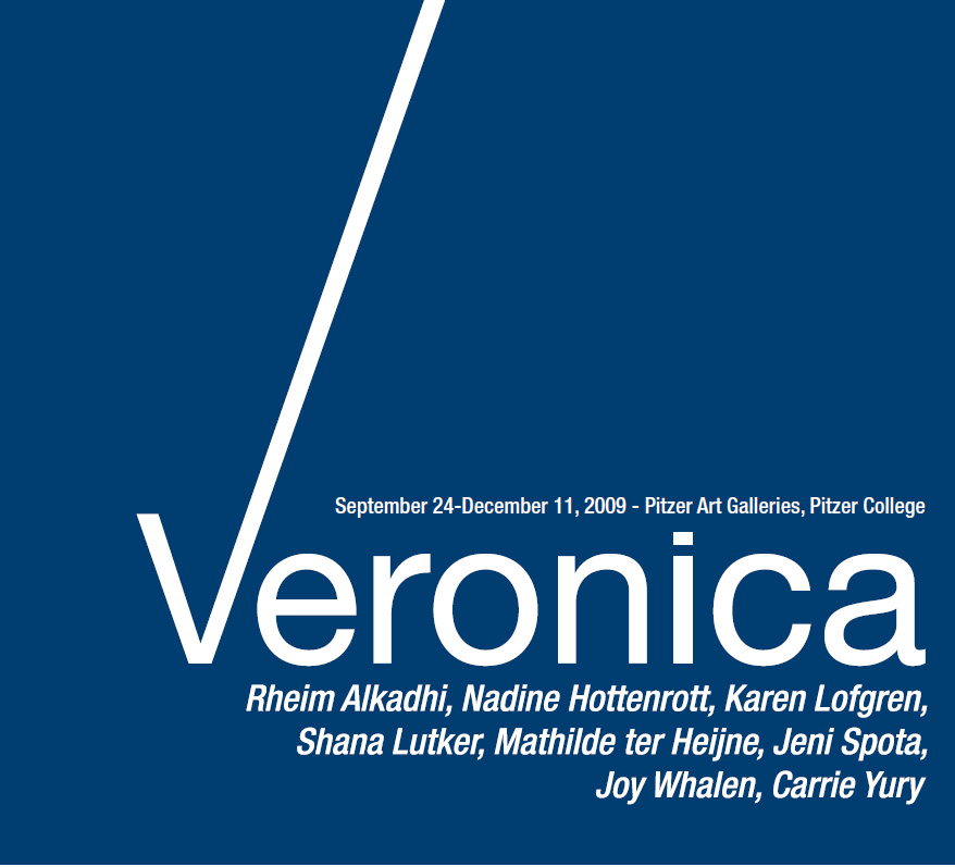 Catalogue cover - Veronica