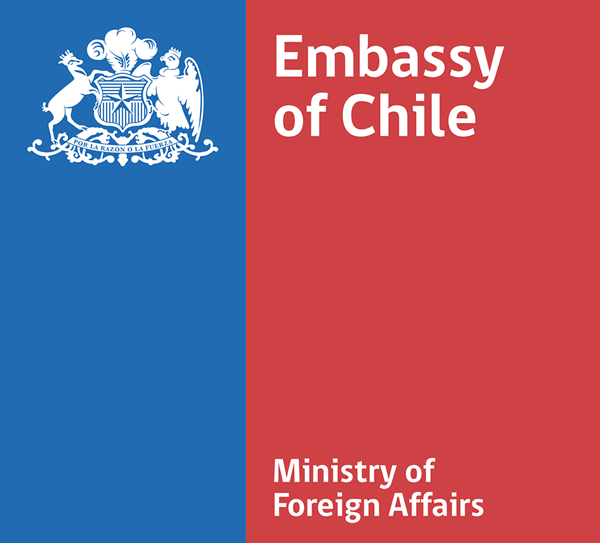 Badge: Embassy of Chile Ministry of Foreign Affairs