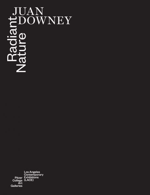 Catalogue cover - Juan Downey: Radiant Nature