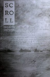 SCROLL: Project on Paper, cover image, 2017. Courtesy of SCROLL and Independent Curators International (ICI).