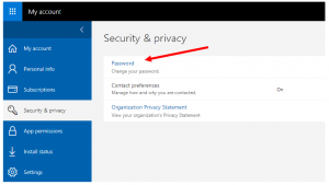 office 365 security and privacy