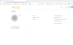 office 365 profile