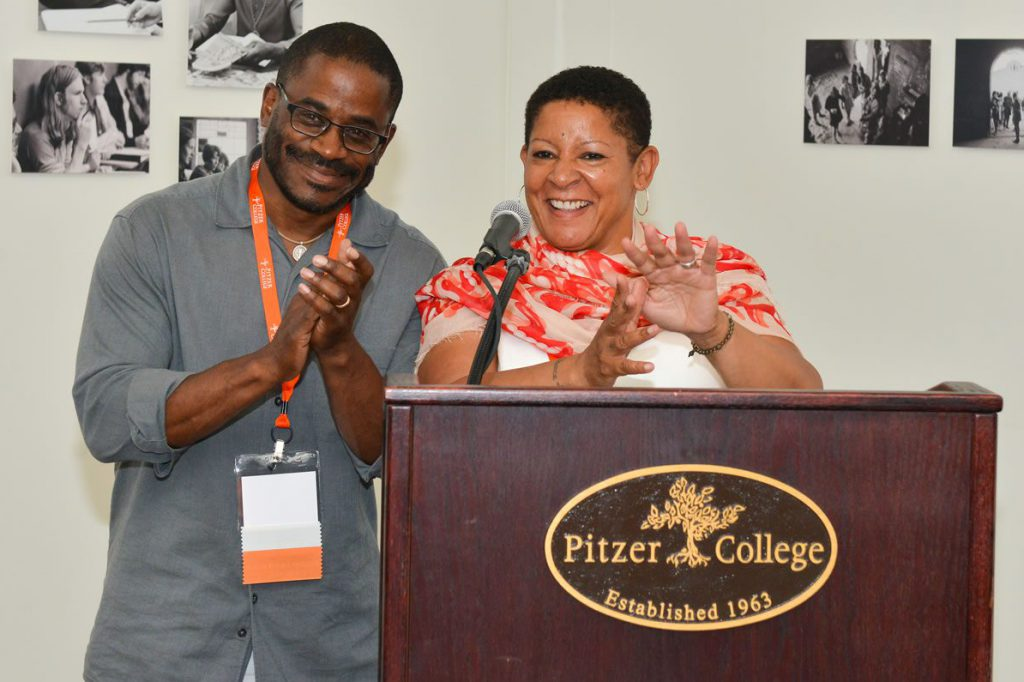 Pitzer Parents Mo and Dori King