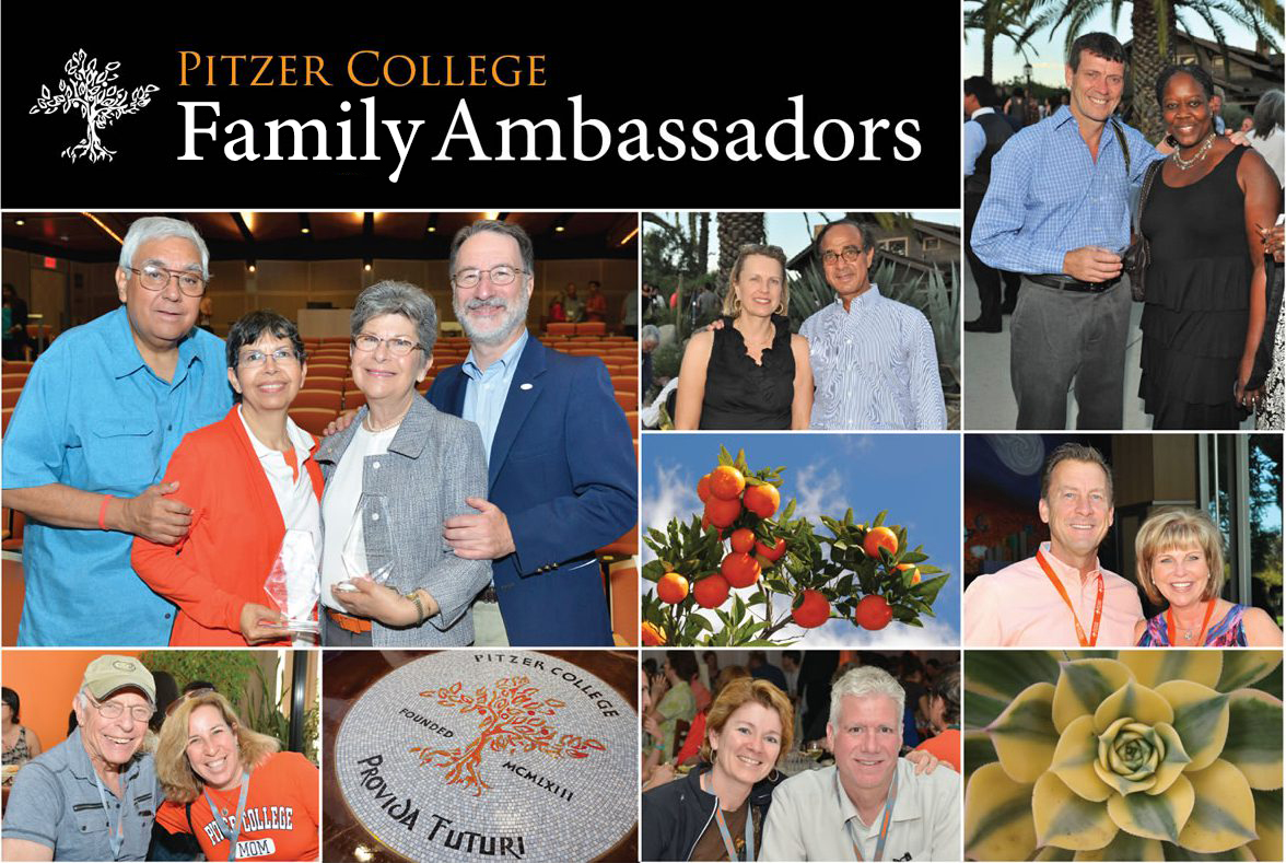 Pitzer College Parent Ambassadors