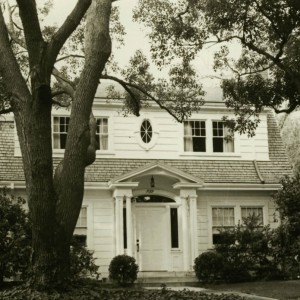 Photo of the President's Residence in 1972.