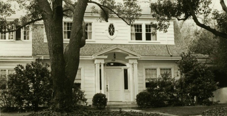 Historical photo of the Presidents Residence