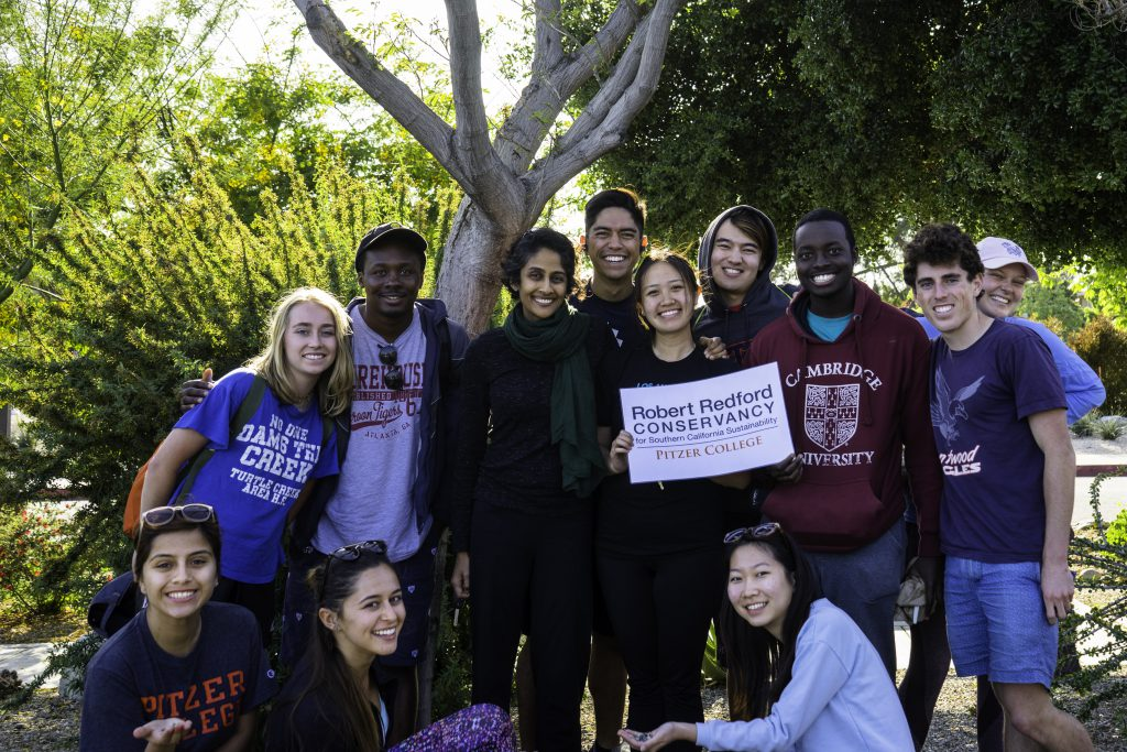 Redford Conservacy fellows and director